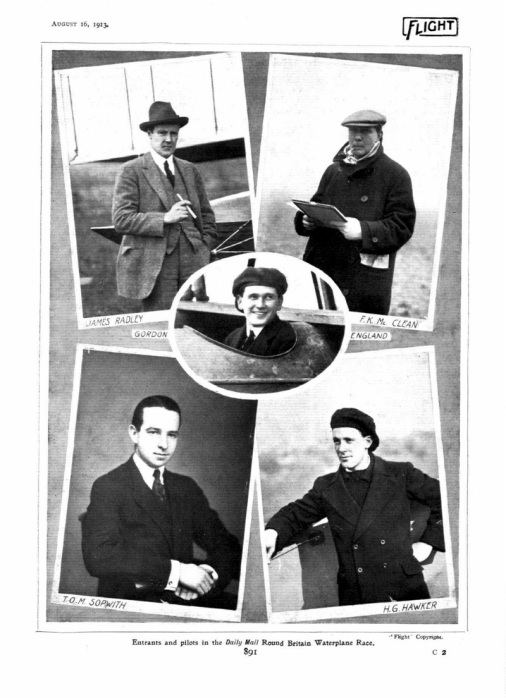 Flight 1913 Pilots